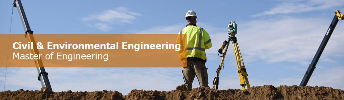 Master of Engineering, Civil and Environmental